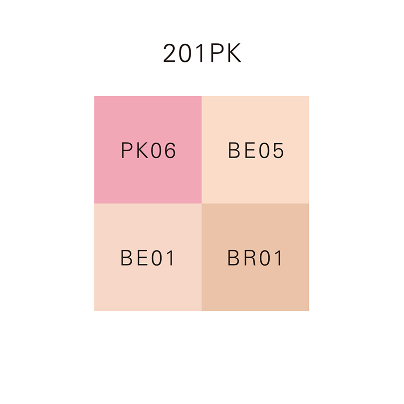 DESIGNING FACE COLOR PALETTE 201PK/201PK