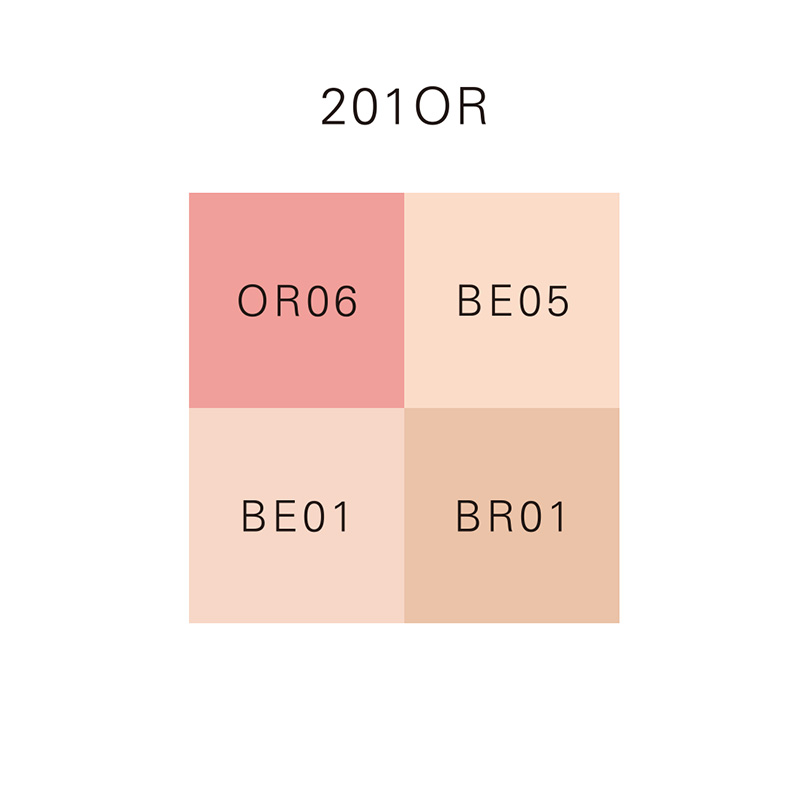 DESIGNING FACE COLOR PALETTE 201OR/201OR